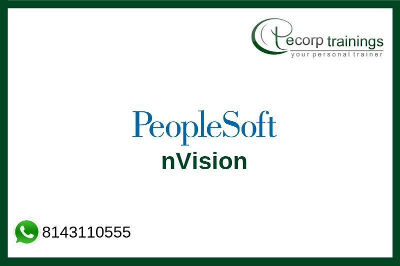PeopleSoft nVision Training
