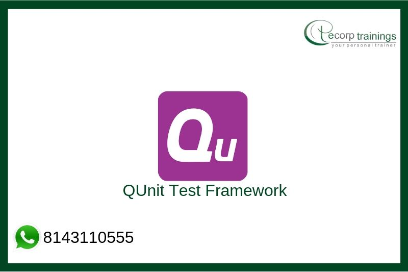 QUnit Test Framework Training