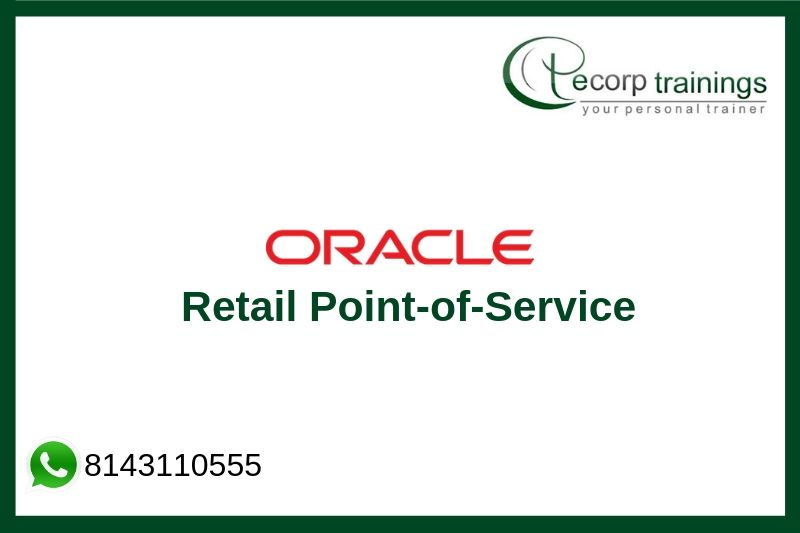 Oracle Retail Point-of-Service (POS) Technical Essentials Training