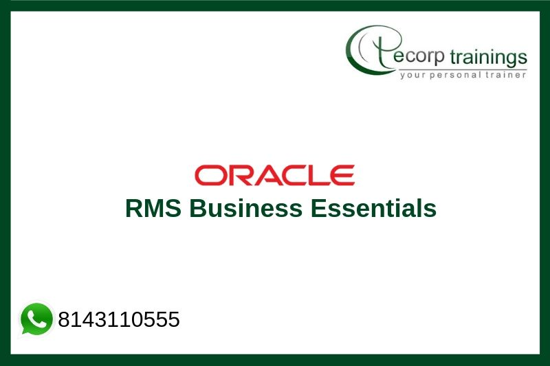 Oracle RMS Business Essentials Training