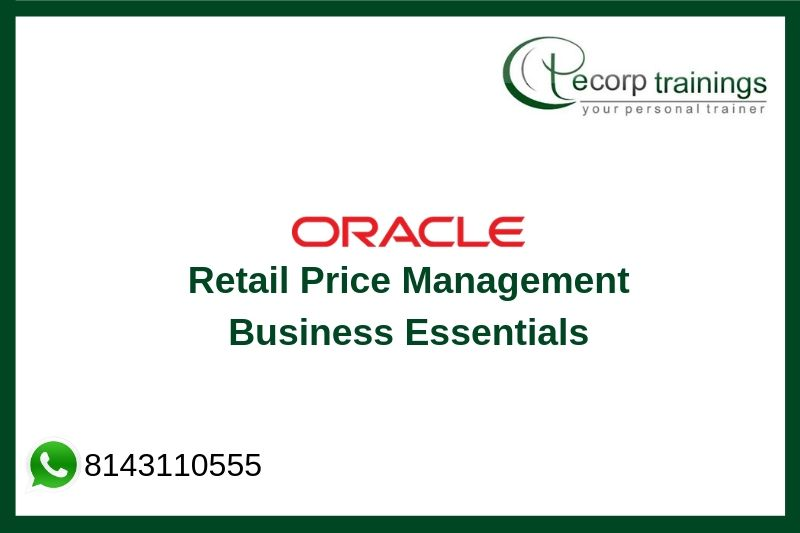 Retail Price Management Business Essentials 14.0 Training
