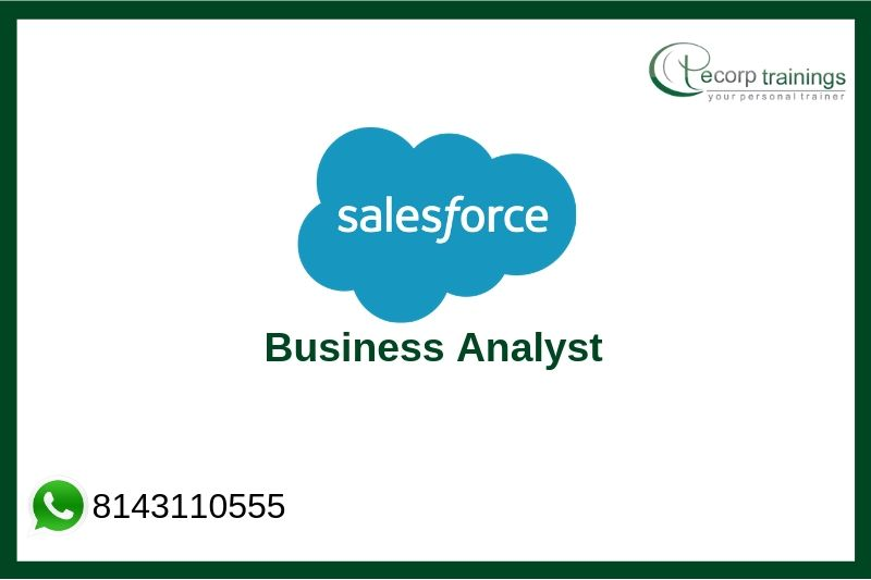 Salesforce Business Analyst Training Courses, Salesforce CPQ Online Training