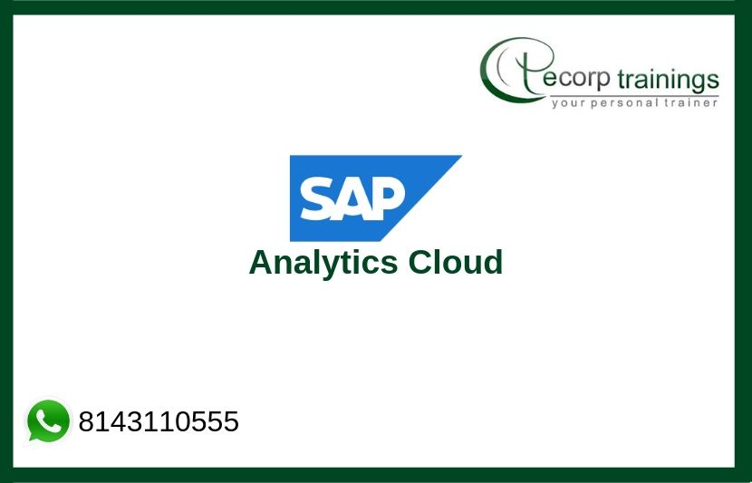 SAP Analytics Cloud Training