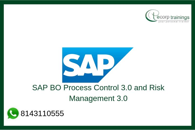 SAP BO Process Control 3.0 and Risk Management 3.0 Training
