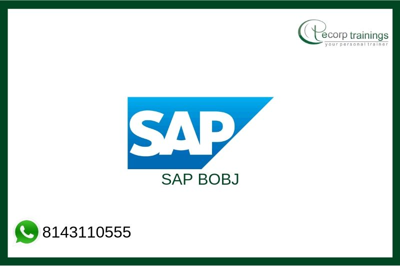SAP BOBJ Training