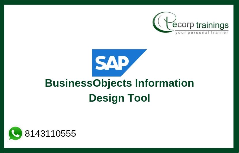 SAP BusinessObjects Information Design Tool Training