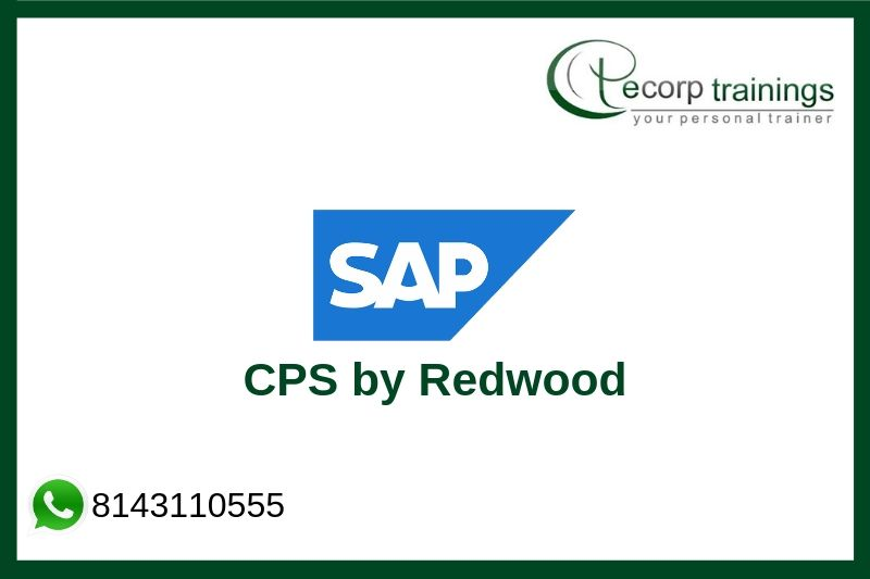 SAP Central Process Scheduling by Redwood Training