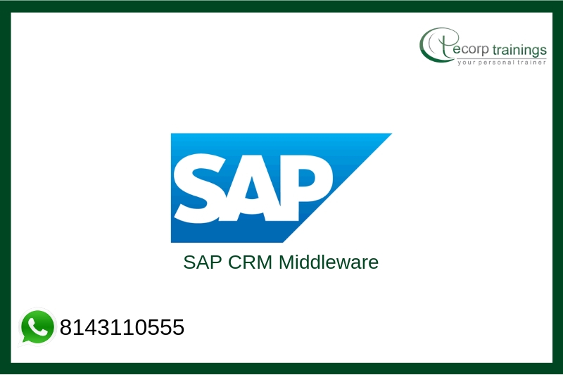 SAP CRM Middleware Training