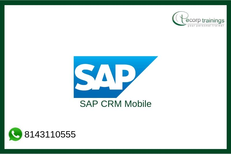 SAP CRM Mobile Training