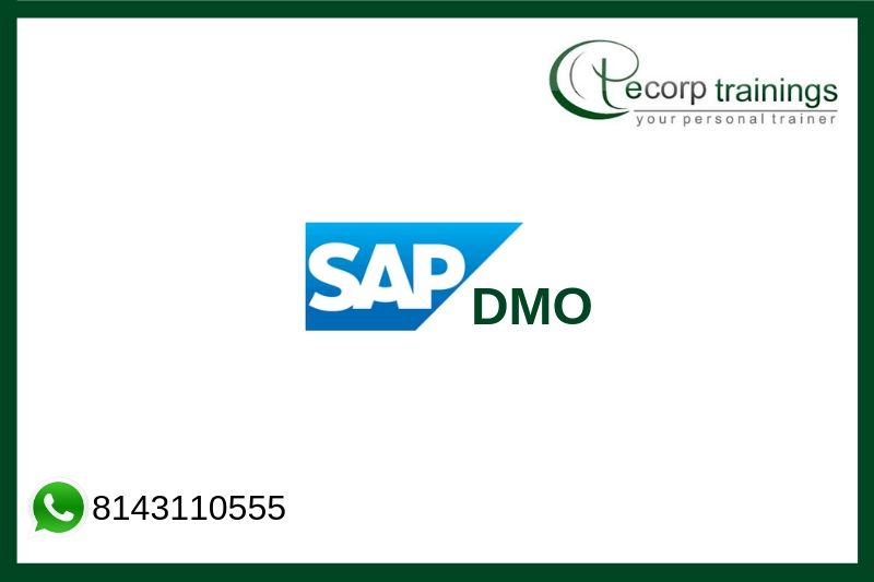 Sap DMO Training