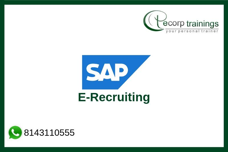 SAP E-Recruiting Training