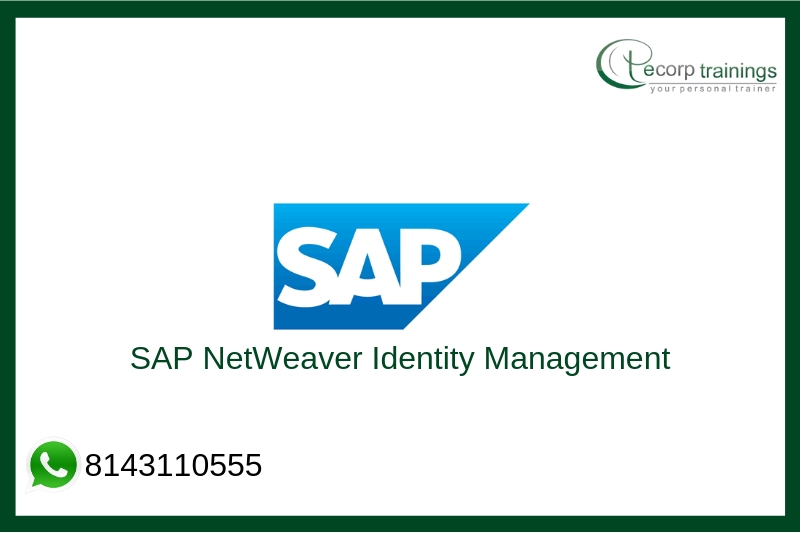 SAP NetWeaver Identity Management Training