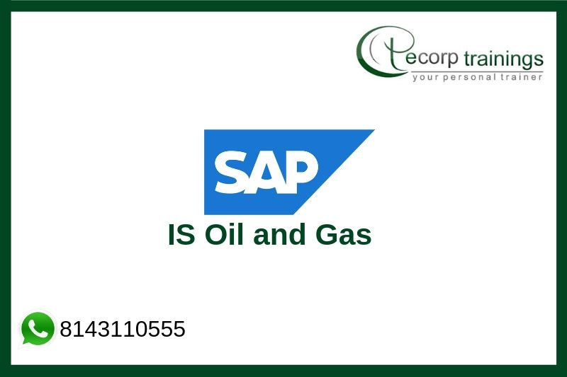 SAP IS Oil and Gas Training