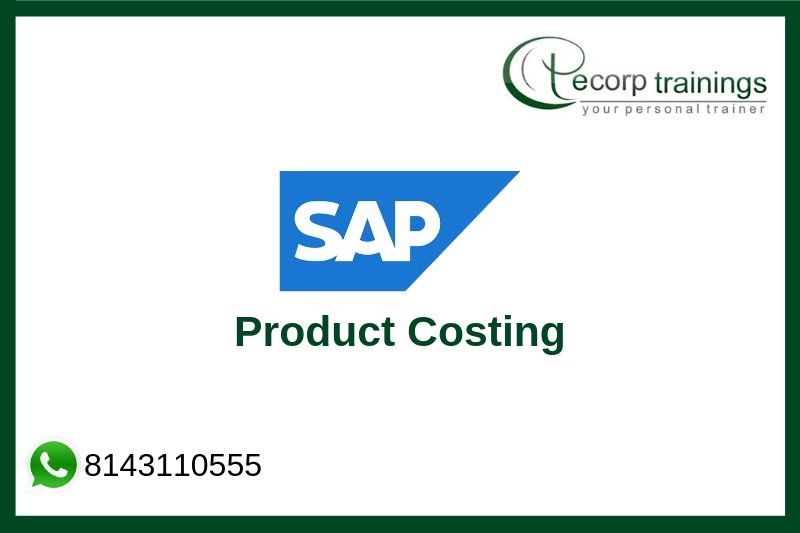 SAP Product Costing Training