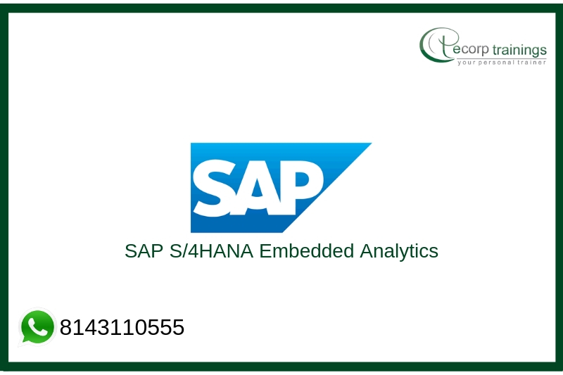 SAP S/4HANA Embedded analytics Training