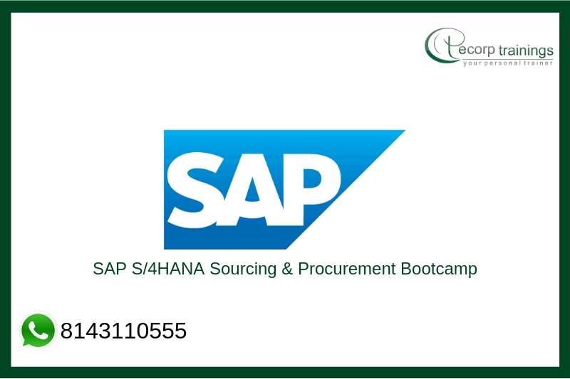 SAP S/4HANA Sourcing & Procurement Bootcamp Training