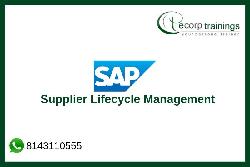 SAP Supplier Lifecycle Management Training