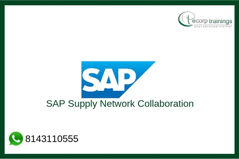 SAP Supply Network Collaboration Training