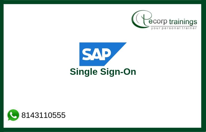 SAP Single Sign-On Training