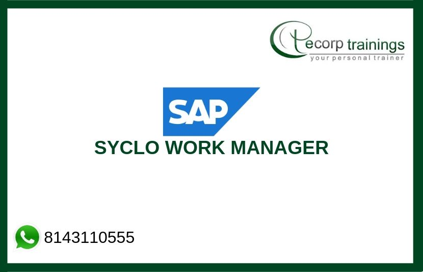 SAP SYCLO WORK MANAGER Training