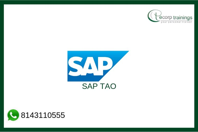 SAP TAO Training