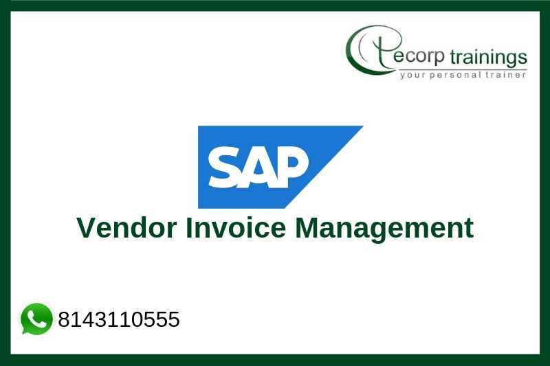 Sap Vendor Invoice Management Training