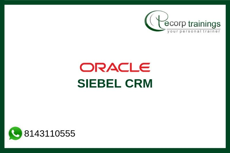 Siebel CRM Training
