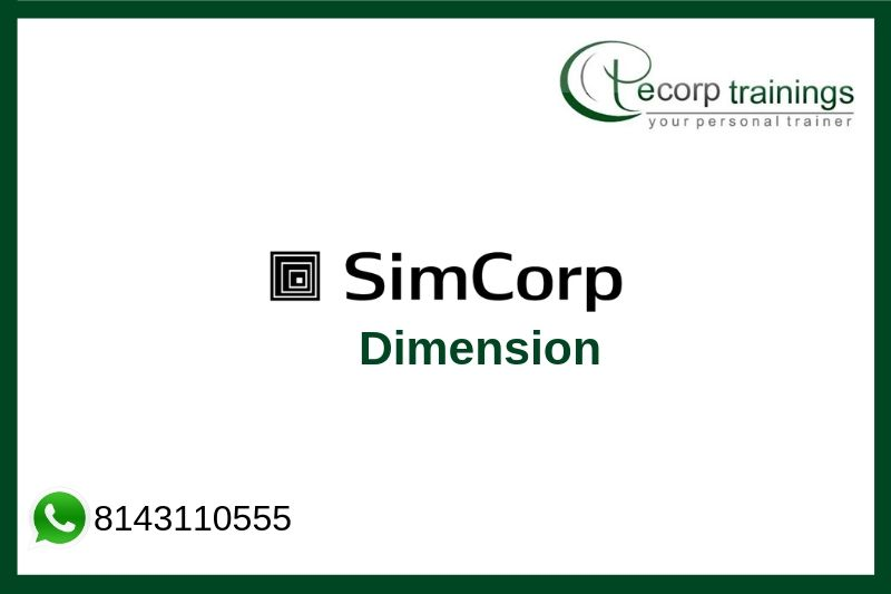 SimCorp Dimension Training