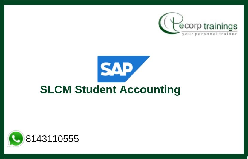 SLCM Student Accounting Training
