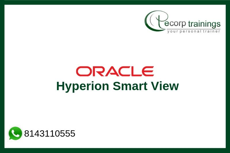 Oracle Hyperion Smart View Training