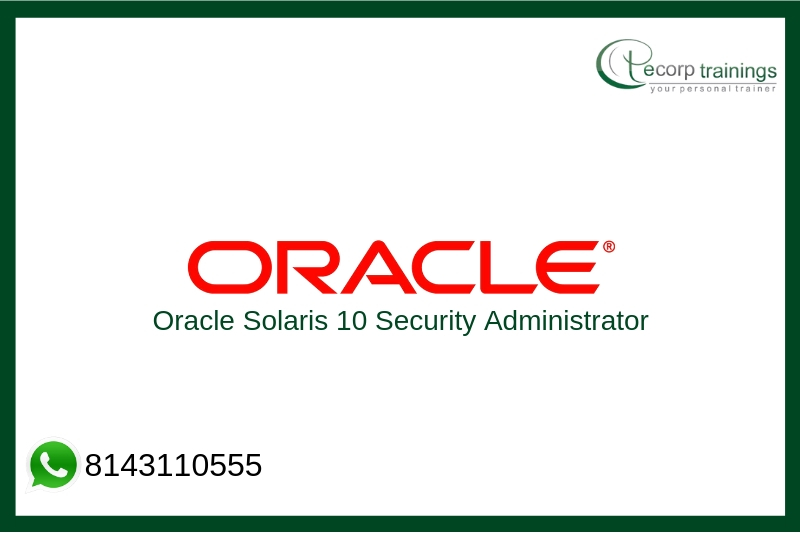 Oracle Solaris 10 Security Administrator Training