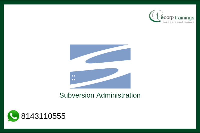 Subversion Administration Training