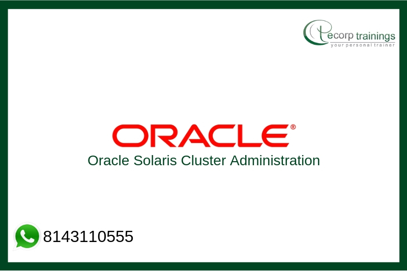 Oracle Solaris Cluster Administration Training