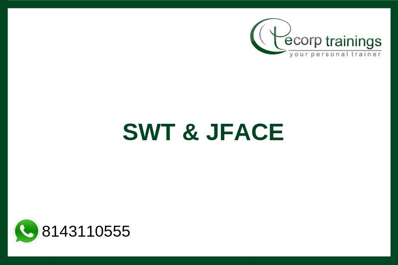 SWT & JFACE Training