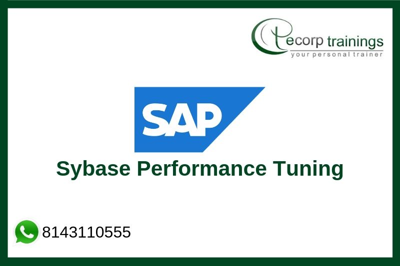 Sybase Performance Tuning Training