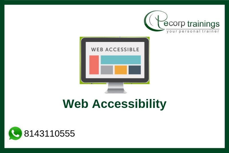 Web Accessibility Training