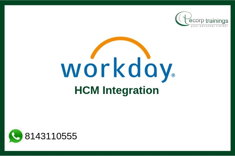 Workday HCM Technical Integration Training