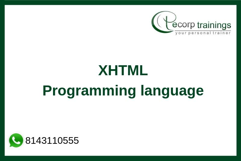 XHTML Training